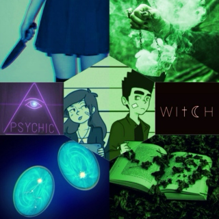 The Psychic And Her Witch