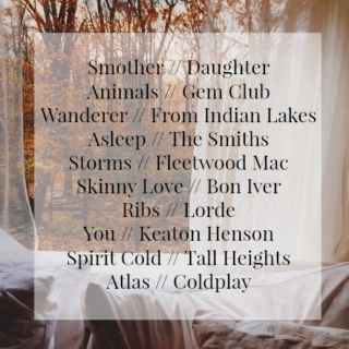 Fall Playlist #1