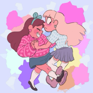 Two Gravity Falls Girls