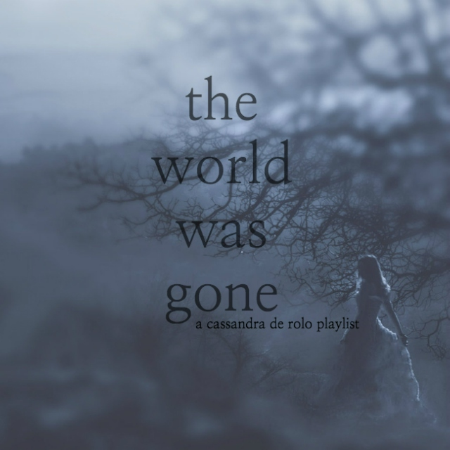 the world was gone