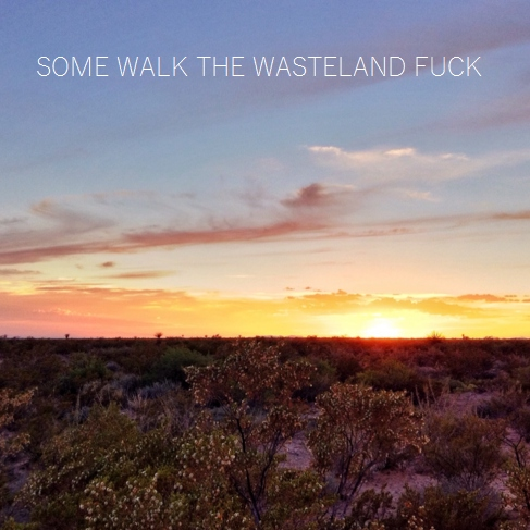 some walk the wasteland fuck