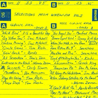 SELECTIONS FROM WNEW-FM VOL I (Side A)