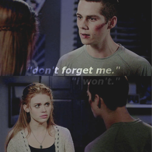 ❝don't forget me,❞ stydia