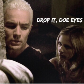 drop it, doe eyes