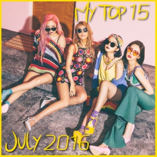 My Top 15 Kpop Songs: July 2016