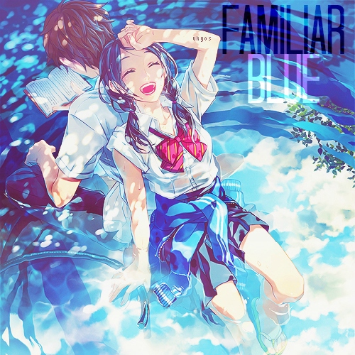 """familiar blue"" 