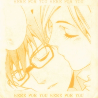 here for you //kazubisha