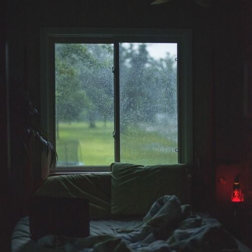 chill mornings and rainy afternoons