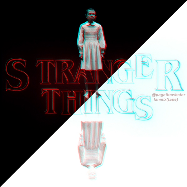 Stranger Things fanmix(tape)