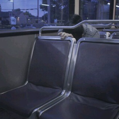 unusually quiet bus rides at night