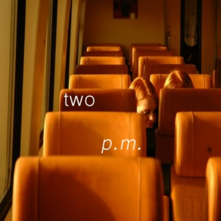 two p.m.
