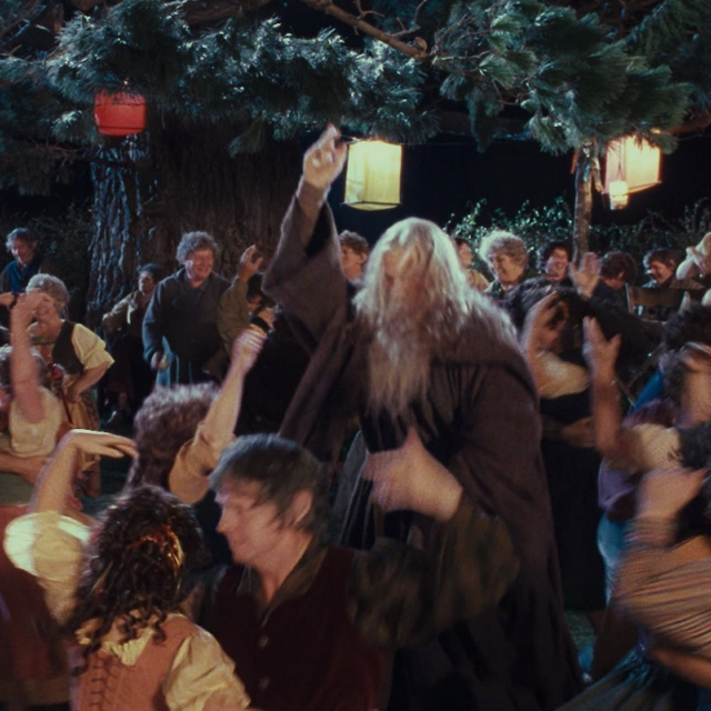 Middle Earth Dance Party