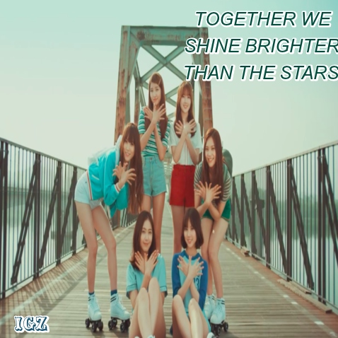 TOGETHER WE SHINE BRIGHTER THAN THE STARS✰