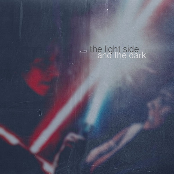 //the light side and the dark