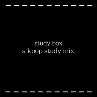 study box // a kpop study mix