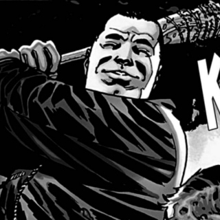 it's negan, bitch!