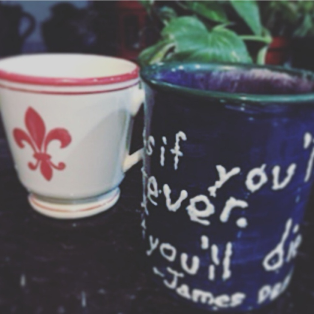 two perfect cups of chamomile tea