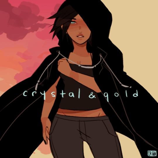 crystal & gold