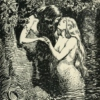 The Nymph caught the Dryad in her arms