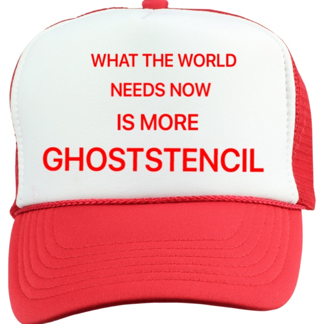 Happy Birthday Ghoststencil
