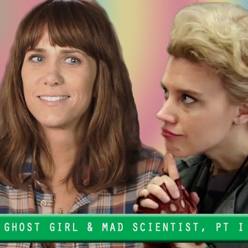 ghost girl and mad scientist, part I