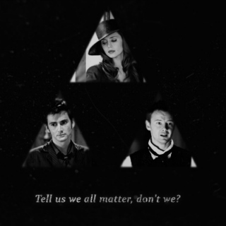 Gallifrey's Golden Trio