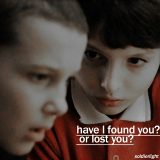 Have I found you? or lost you?