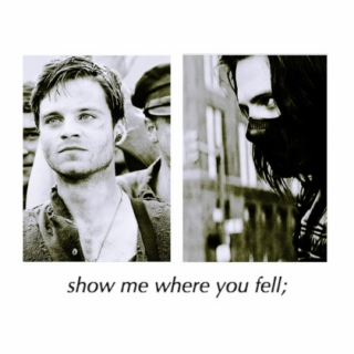 show me where you fell;