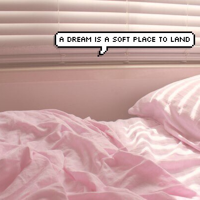 A DREAM IS A SOFT PLACE TO LAND