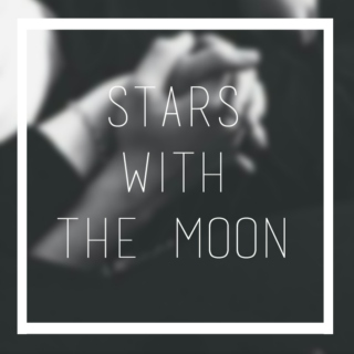 stars with the moon