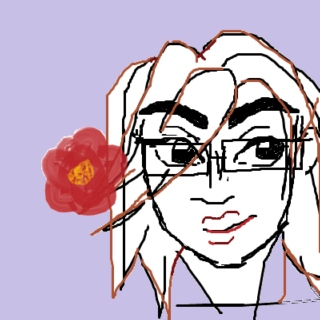 tom, as drawn on a laptop trackpad