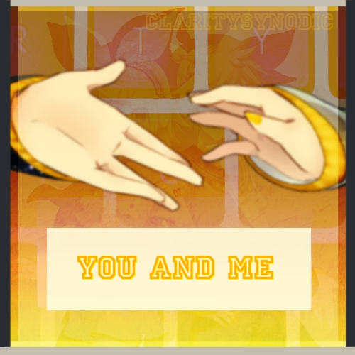 *:・゚✧You and me✧:・゚*