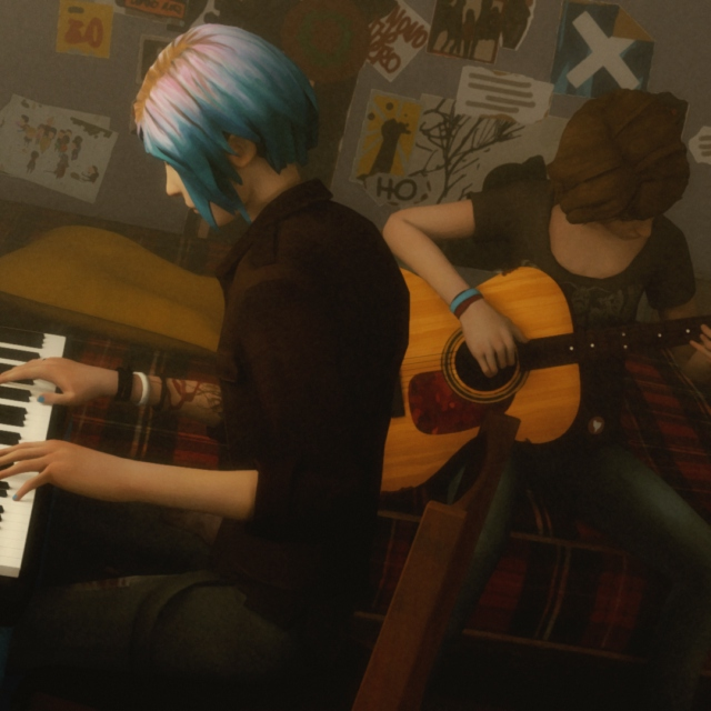 Max and Chloe's Soundtrack to the End of the World  Acoustic Hipstershit Vs. Badass Metalwhore
