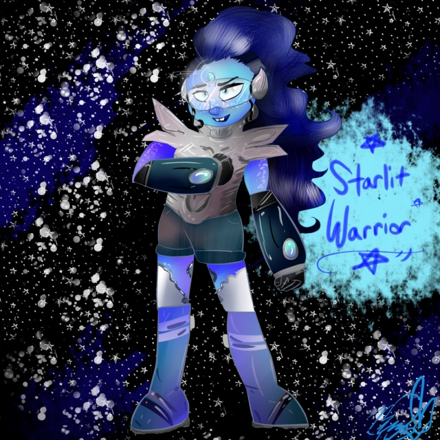 starlit warrior ✧