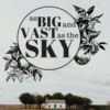As Big and Vast as the Sky