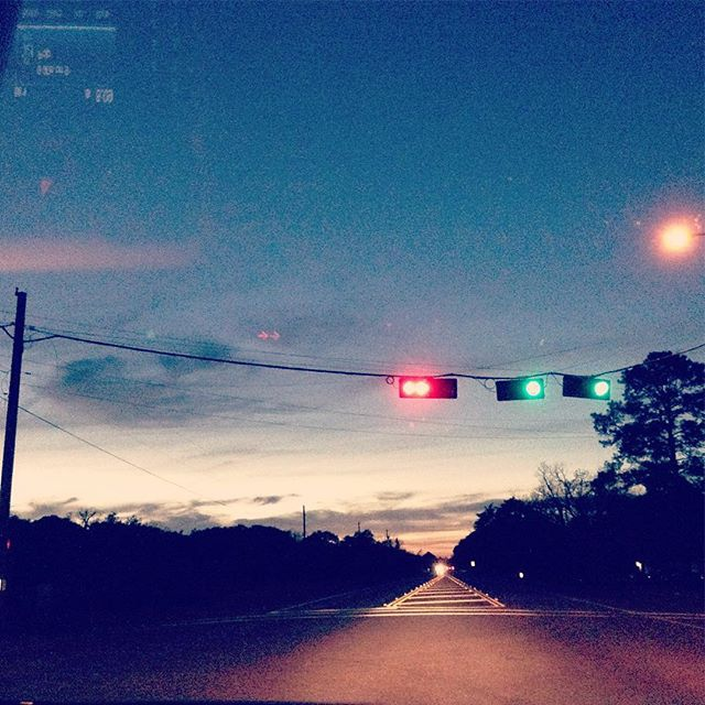 the lick of the nightly streetlights
