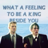 a king beside you