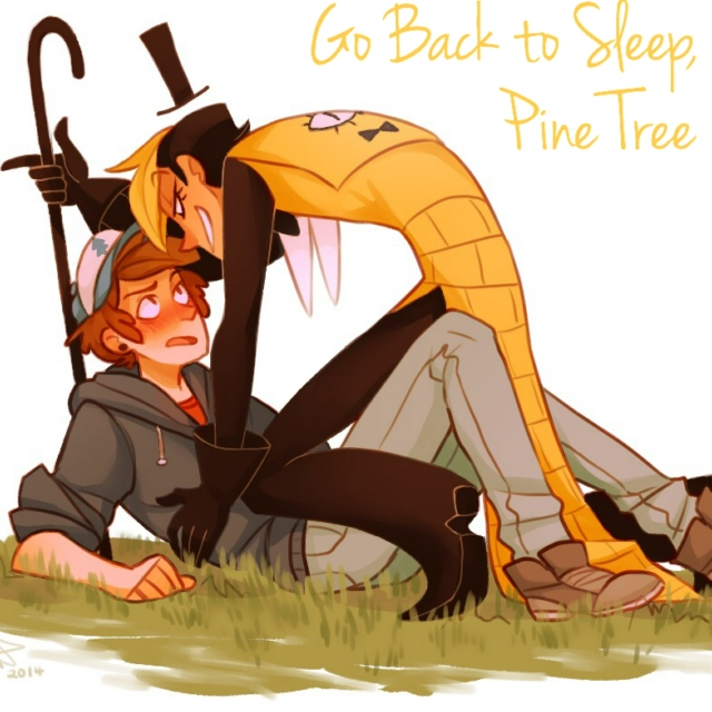 Go Back to Sleep, Pine Tree