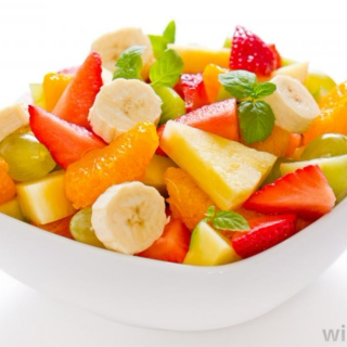 Homemade Fruit Salad