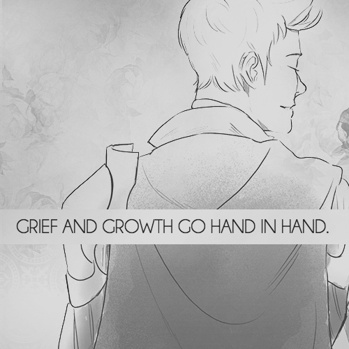 grief and growth go hand in hand.
