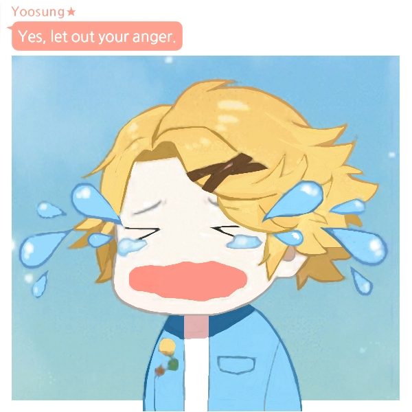 let out your anger