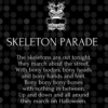 Skeletons on Parade! Halloween Mix
