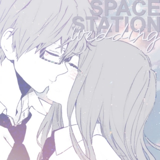 space station wedding ♡ 707