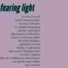 fearing light