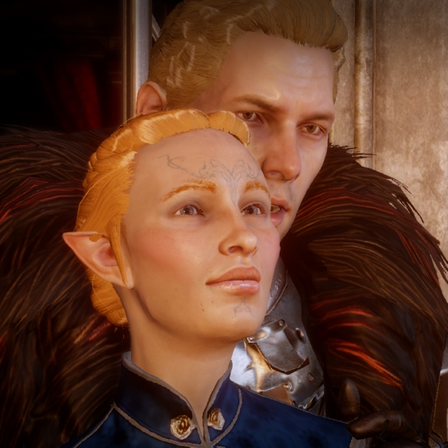 Everything Has Changed- A Cullen x Lavellan Mix