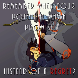 remember when your potential was a promise instead of a regret?