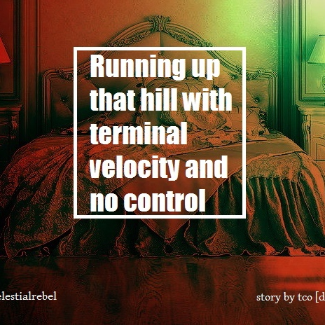 Running Up That Hill With Terminal Velocity And No Control