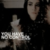 you have no control.