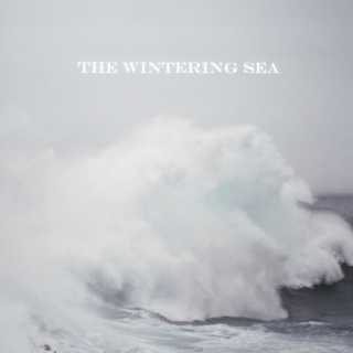 the wintering sea.
