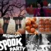 midnight spook party.